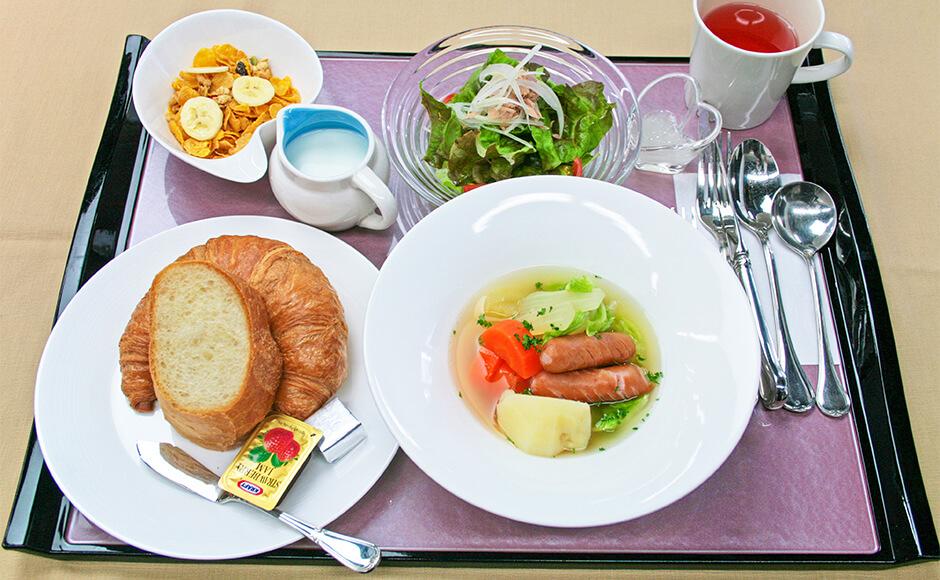 通常のお食事_朝食_春1