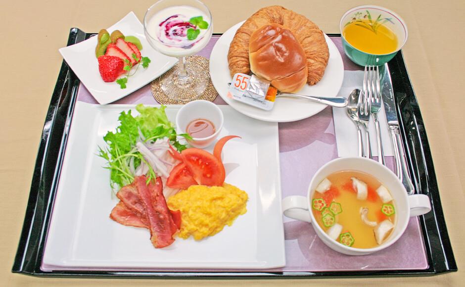 通常のお食事_朝食_春2