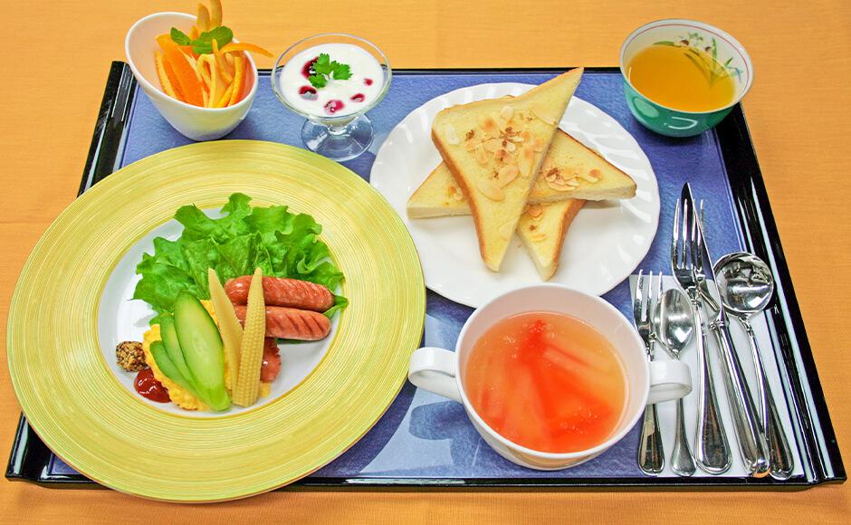 通常のお食事_朝食_秋2