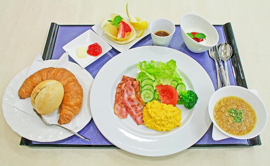 通常のお食事_朝食_冬1