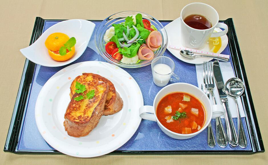 通常のお食事_朝食_冬2