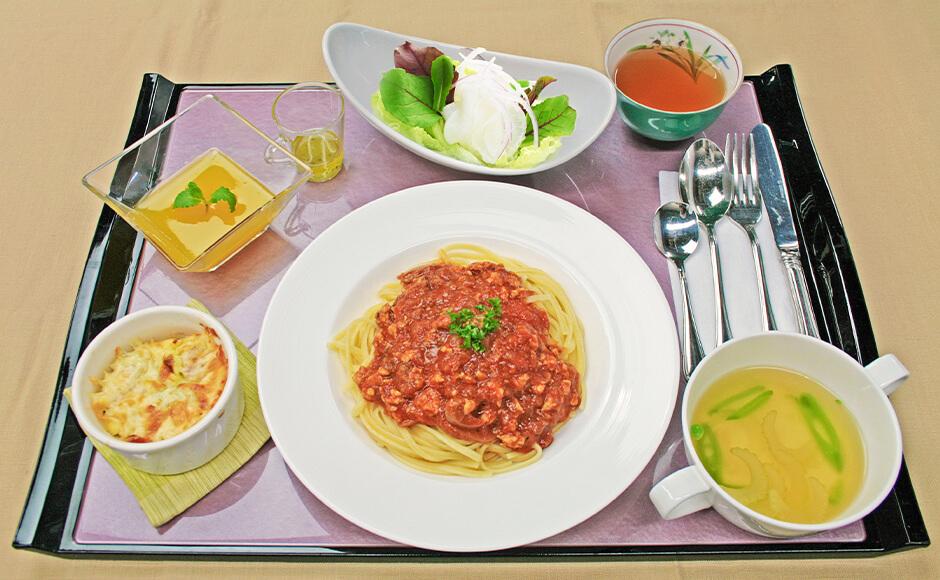 通常のお食事_昼食_春1