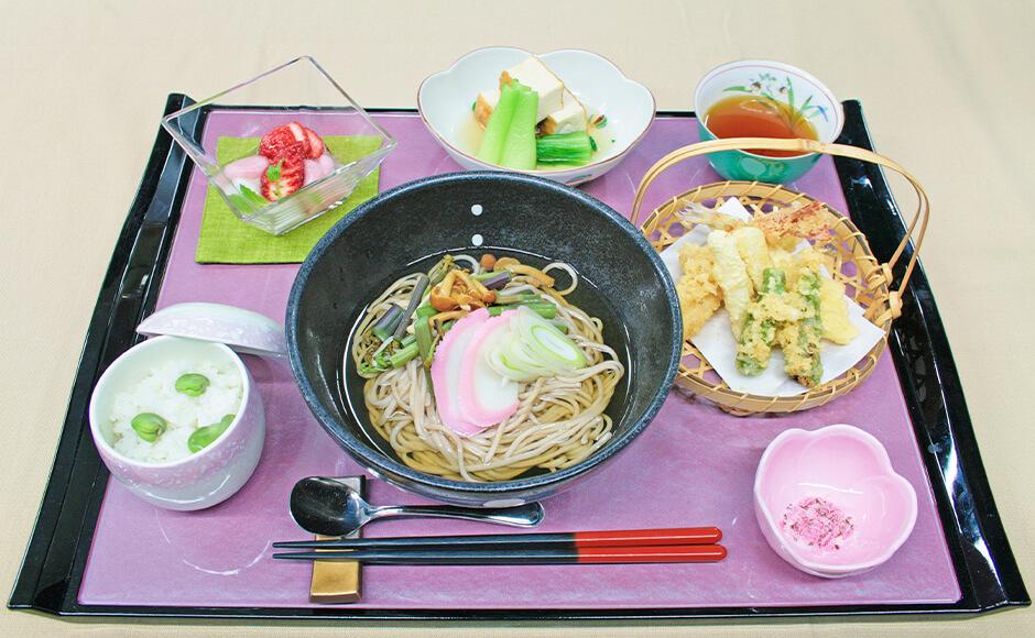 通常のお食事_昼食_春2