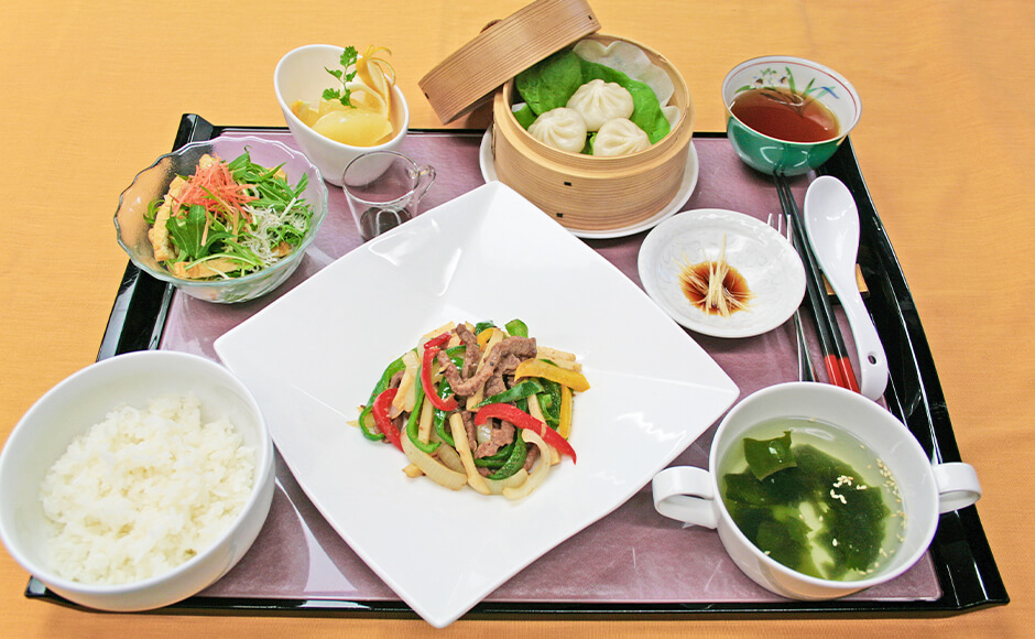 通常のお食事_昼食_夏1