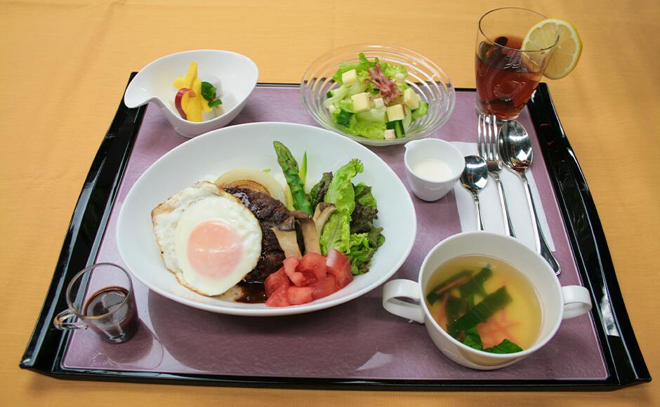通常のお食事_昼食_夏2
