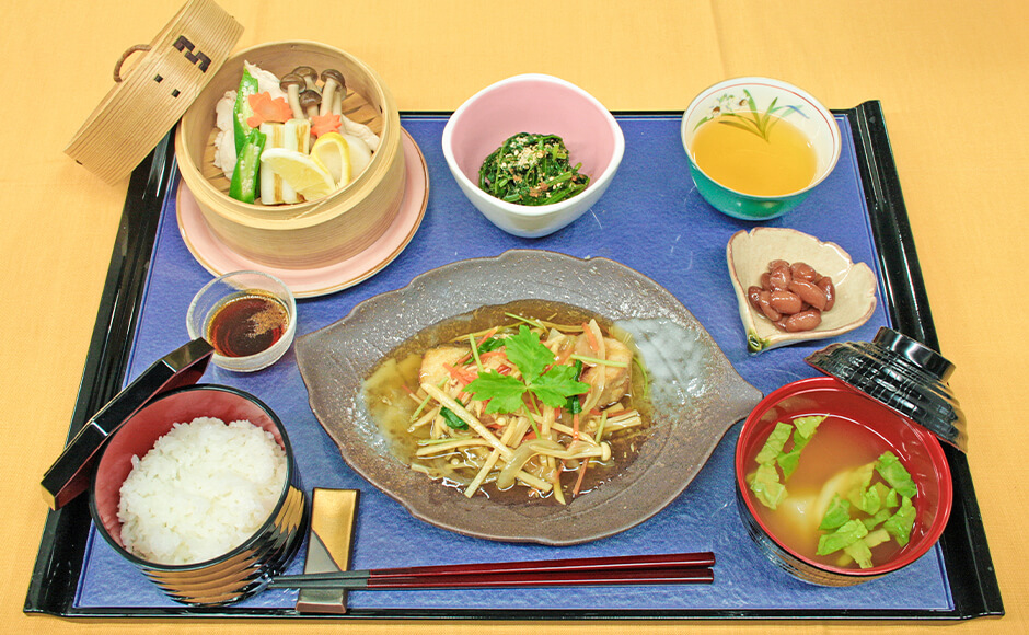 通常のお食事_昼食_秋1