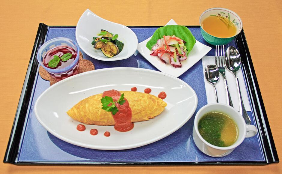 通常のお食事_昼食_秋2
