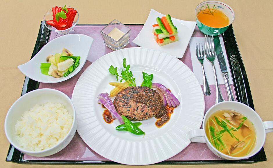 通常のお食事_夕食_春1
