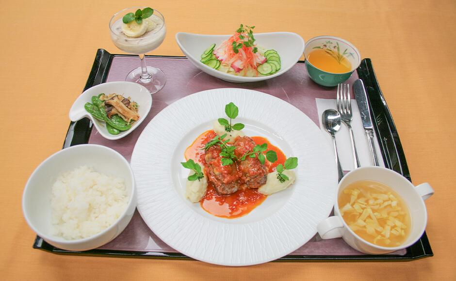 通常のお食事_夕食_夏2