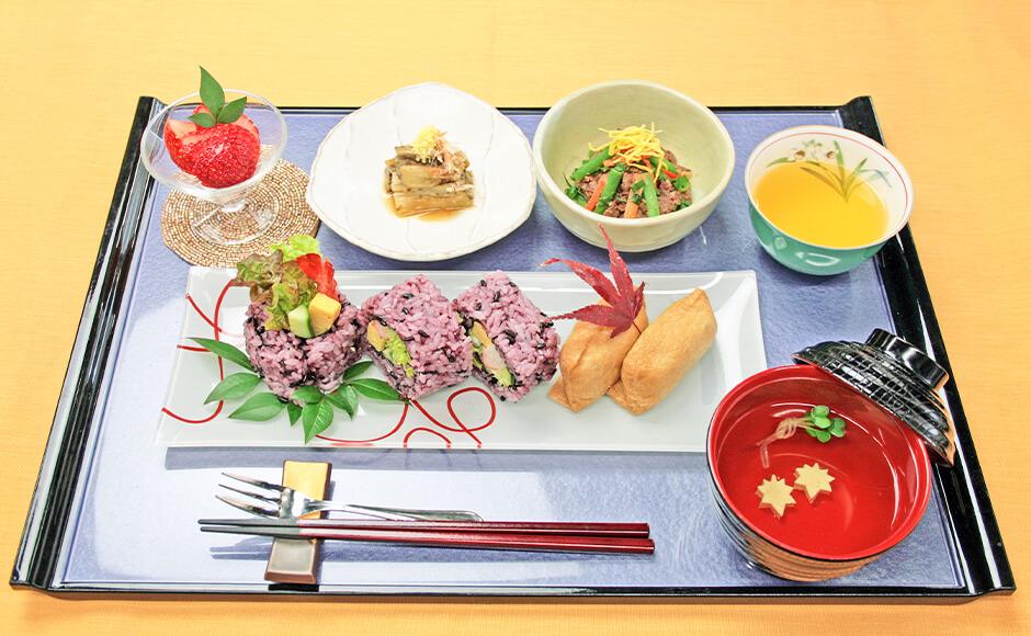 通常のお食事_夕食_秋2