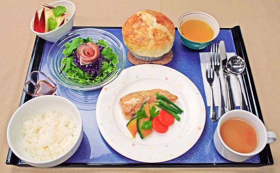 通常のお食事_夕食_冬2